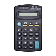 Mini Calculator 8-Digit LCD Display Small Calculator Cute Pocket Size 4.37x2.44 for Students Use Portable Office Home thumbnail
