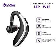 Tai Nghe Bluetooth 1 Bên LANEX LEP - W16 V5.0 Có Hỗ Trợ Mic - Tương Thích Nhiều Thiết Bị - Kiểu Dáng Nam Tính - Hàng Nhập Khẩu thumbnail