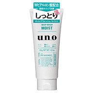 Shiseido Uno Whip Wash Moist Men s Moisturizing Face Cleanser 130g Japen thumbnail