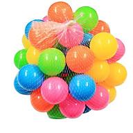 Túi 10 quả bóng nhựa đường kính 5.5cm cho bé chơi nhà banh lều bóng thumbnail