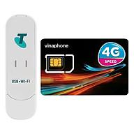 USB Phát Wifi 3G ZTE MF70 21.6Mbps + Sim Vinaphone 3G 4G (Trọn Gói 1 Năm Không Cần Nạp Tiền Duy Trì) - Hàng chính hãng thumbnail