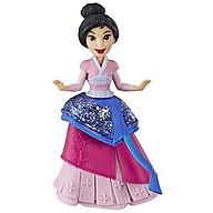 Đồ chơi búp bê công chúa Mulan mini Disney Princess E4864 thumbnail
