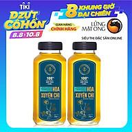 Set 2 chai Mật ong rừng nguyên chất Hoa Xuyến Chi Honimore 500g - giúp tăng cường đề kháng thumbnail