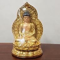 Tượng Phật A Di Đà Vượng Cát Vàng Đồng Trang Trí Nhà Cửa, Xe Hơi OB02 thumbnail