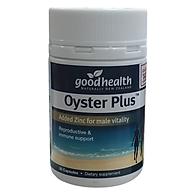 Tăng Cường Sinh Lý Nam Tinh Chất Hàu Goodhealth Oyster Plus Nhập Khẩu New Zealand Giúp Bổ Thận Tráng Dương, Cải Thiện Sức Khỏe Sinh Sản Và Chất Lượng Tinh Trùng, Hỗ Trợ Tình Trạng Xuất Tinh Sớm, Giảm Đau Lưng Mỏi Gối Chậm Mãn Dục Lọ 30 viên thumbnail