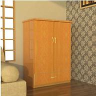Tủ nhựa Đài Loan 2 cánh 1 ngăn T211 (Màu gỗ) thumbnail