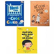 Combo Sách Để Con Được Ốm - Chờ Đến Mẫu Giáo Thì Đã Muộn - Nuôi Con Không Phải Cuộc Chiến (Tặng Sách Người Mỹ Giúp Con Ham Đọc Sách ) thumbnail