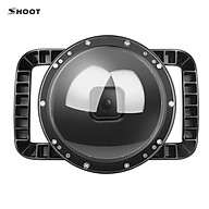 SHOOT XTGP548 Underwater Dome Dual Handheld Tray Dome Port Housing Case Waterproof Diving Protective Case Underwater thumbnail