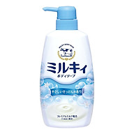Sữa Tắm Milky Hương Hoa Cỏ Nội Địa Nhật Bản (550ml) thumbnail
