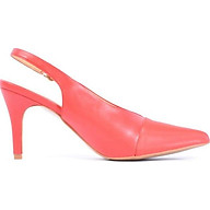 Giày Sandal Cao Gót Nữ Vasmono Phối Mũi V017023 thumbnail