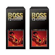 Bộ 2 Bao Cao Su Boss 12s 4 trong 1 thumbnail