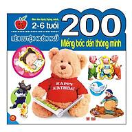 200 Miếng Bóc Dán Thông Minh - Rèn Luyện Ngôn Ngữ (Tái Bản 2018) thumbnail
