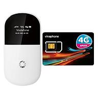 Bộ Phát Wifi Di Động 3G-Vodafone R205 + Sim 3G 4G Vinaphone Nghe Gọi Tặng 4GB Ngày - Hàng Nhập Khẩu thumbnail