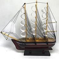 Mô Hình Thuyền France II 28cm gỗ tràm MNV-TB80 thumbnail