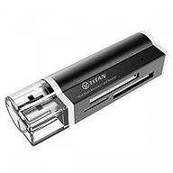 Đầu đọc thẻ nhớ Titan-DT02 - Mini Multi Memory Card Reader - Hàng chính hãng thumbnail