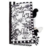 Đồ chơi - Sách vải đuôi đen trắng cho bé sơ sinh từ 0m+ thumbnail