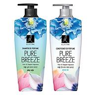 Combo Gội Xả Nước Hoa Elastine De Perfume Pure Breeze (600ml) thumbnail
