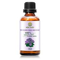 Tinh dầu hoa Ngũ Sắc (hoa cỏ hôi) 50ml Mộc Mây - tinh dầu nguyên chất từ thiên nhiên - Có kiểm định Bộ Y Tế, chất lượng và mùi hương vượt trội thumbnail