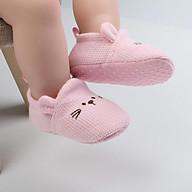 Giầy tập đi hình thú cho bé trai bé gái sơ sinh size từ 0-12m thumbnail