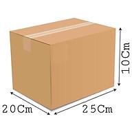 25x20x10 - Combo 10 thùng giấy carton gói hàng thumbnail