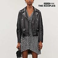 THE KOOPLES - Đầm mini phối bèo thời trang FROB19178K-BLA70 thumbnail
