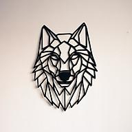 Tranh Gỗ trang trí Vdecor hình sói trang trí văn phòng, phòng làm việc, phòng khách thumbnail