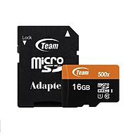 Thẻ nhớ 16gb micro SDHC UHS-1 Team Adapter (cam) Hàng Chính Hãng thumbnail