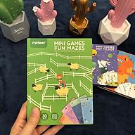 Bộ trò chơi Mê Cung Vui vẻ Độ khó tăng dần - Chính hãng Mideer Minigame Fun Maze thumbnail