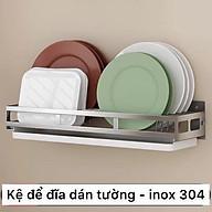 bộ kệ nhà bếp dán tường, kệ inox 304 thumbnail