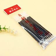 Combo 10 ruột bút ma thuật mực tự bay màu có nắp từng ruột, đóng chung túi chuyên dụng luyện viết tiếng Trung, Hàn, Nhật, thư pháp thumbnail