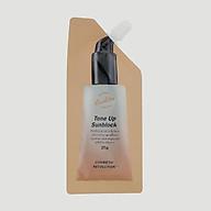 Kem chống nắng nâng tông da sáng mịn SPF50+PA+++ xuất xứ Hàn Quốc Cosmetic Revolution Tone Up Sunblock 25g thumbnail