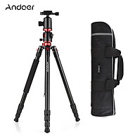 Andoer 76 Inch Camera Tripod Portable Aluminium Alloy Tripod Stand with Carry Bag 1 4 Inch Scew Quick Release Plate thumbnail