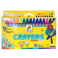 Bút Sáp Màu 16 Cây Hộp Giấy Colormate - CRAYONS-16P thumbnail