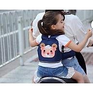 Đai xe máy an toàn tặng kèm thước đo chiều cao cho bé thumbnail