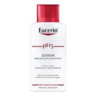 Sữa Dưỡng Thể Cho Da Cơ Thể Nhạy Cảm Eucerin Sensitive Skin Ph5 Lotion (250ml) thumbnail