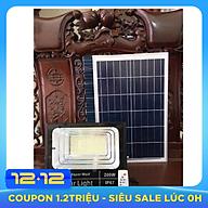Đèn pha LED năng lượng mặt trời 200W thumbnail