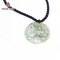 Mặt dây chuyền cẩm thạch long phụng 45mm mệnh hỏa , mộc - Ngọc Quý Gemstones thumbnail