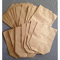 Túi giấy kraft xi măng (100 túi tập), gói hàng , đựng thực phẩm thumbnail