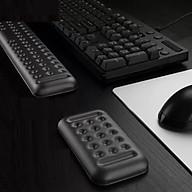 Kê tay bàn phím da PU chống mỏi cổ tay cho bàn phím và chuột máy tính bản nâng cấp Vu Studio - Hàng chính hãng thumbnail