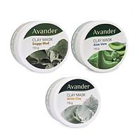 Combo 3 hũ mặt nạ đất sét Avander ( Bùn non, đất set trắng, đất sét nha đam) thumbnail