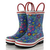 Ủng đi mưa hoa cỏ mùa xuân giúp bé đi trời mưa, thăm vườn rau, bảo vệ đôi chân bé tránh những vật sắt nhọn SB022 thumbnail