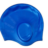 Mũ Nón Bơi Silicon che tai chống thấm nước và co dãn tốt cho người lớn và trẻ con (màu ngẫu nhiên) thumbnail