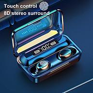 Tai nghe bluetooth Lanith F9 Pro 5.0 - Tai nghe nhét tai kết nối không dây phiên bản quốc tế - Âm bass êm và sâu, chip AIC chống gây chói tai - Thiết kế thời thượng, hiện đại - Hàng nhập khẩu - TAI0F9PRO thumbnail