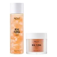 Combo 2 Sản Phẩm NACIFIC Real Floral Toner Rose 180ml + Real Floral Air Cream Rose 100ml thumbnail