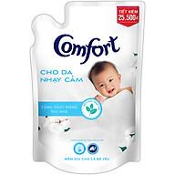 Nước Xả Vải Comfort Cho Da Nhạy Cảm (1.6L Túi) - Phù Hợp Với Làn Da Em Bé (Giao mẫu ngẫu nhiên) thumbnail