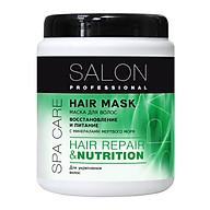Kem ủ phục hồi hư tôn và nuôi dưỡng tóc Salon Professional dành cho mọi loại tóc 1000ml thumbnail
