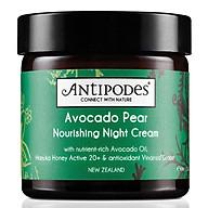 Antipodes Natural Avocado Pear Night Cream 60ml thumbnail