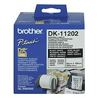 Giấy In Nhãn Bế Brother DK-11201 400 Nhãn (29mm x 90mm) - Hàng Chính Hãng thumbnail