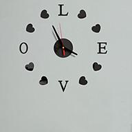 Đồng hồ treo tường 3D tự lắp ráp DIY chữ LOVE (DH84) thumbnail