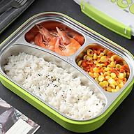 Hộp đựng cơm cho trẻ em 3 ngăn tiện lợi thumbnail